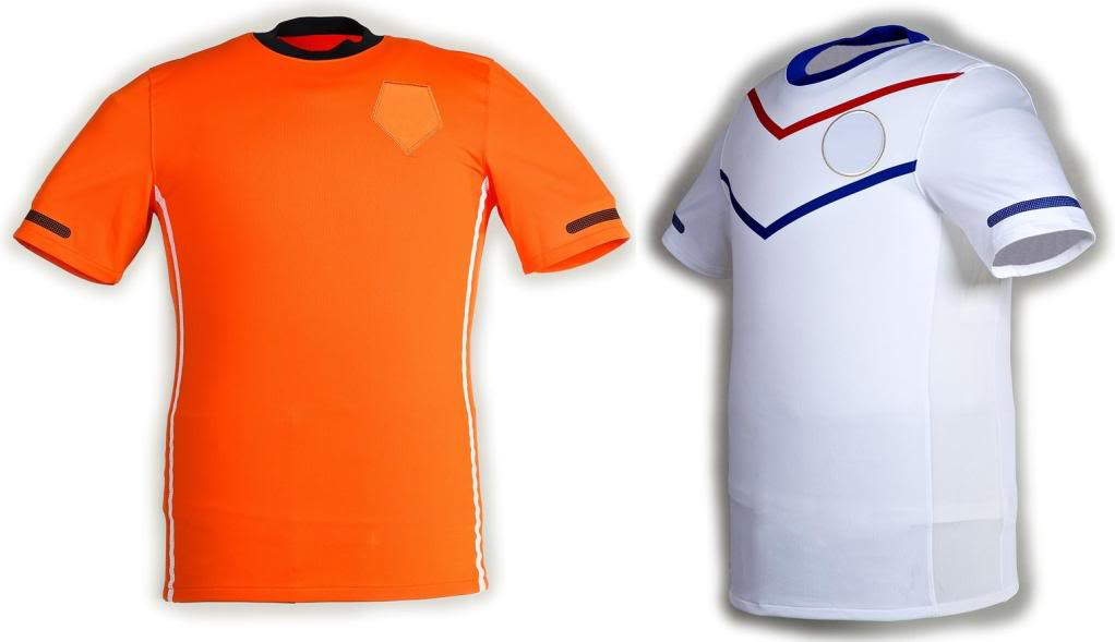Maillots internationaux (World Cup 2010) Holandadesigns