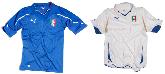 Maillots internationaux (World Cup 2010) Italiahomeaway