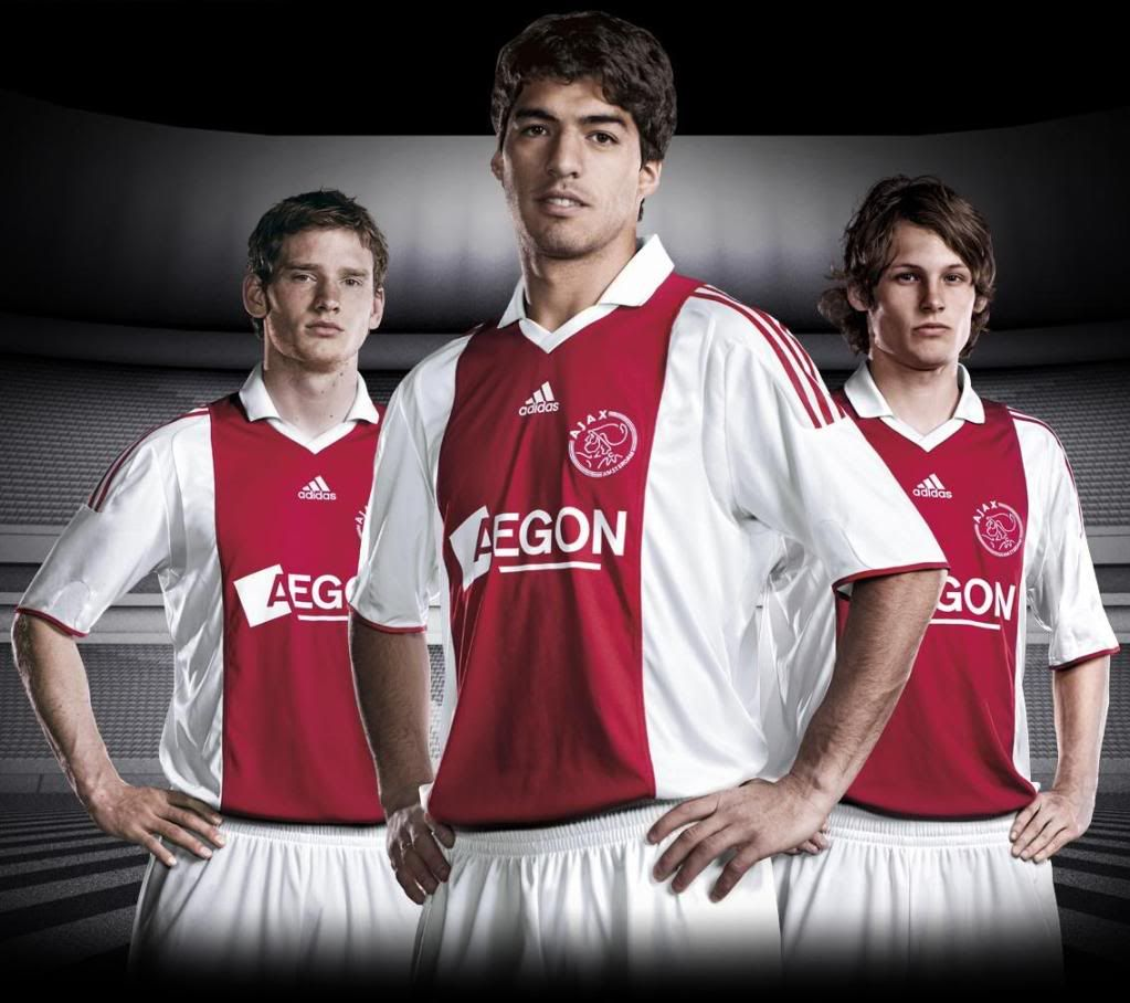 Maillots [2009-2010] - Page 5 Ajax