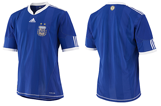 Maillots internationaux (World Cup 2010) Argentinaaway1