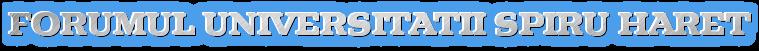 <font color=red>Forumul Universitatii Spiru Haret