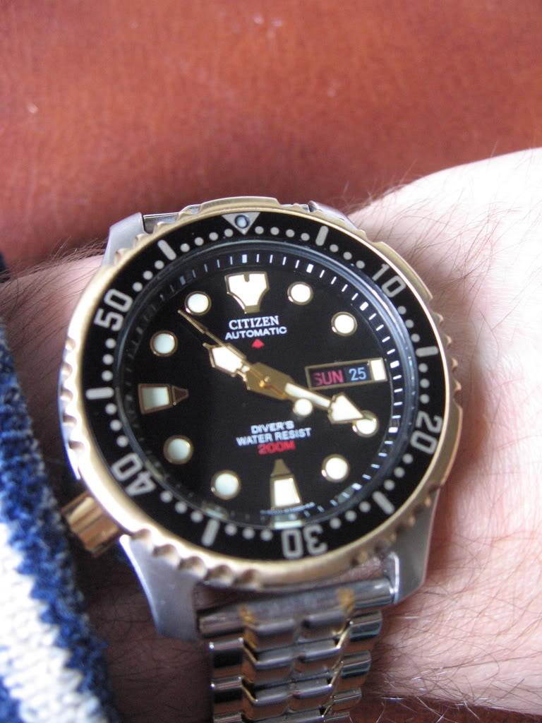 citizen - Citizen Promaster NY0040-09EB avec bracelet metal IMG_0001-3