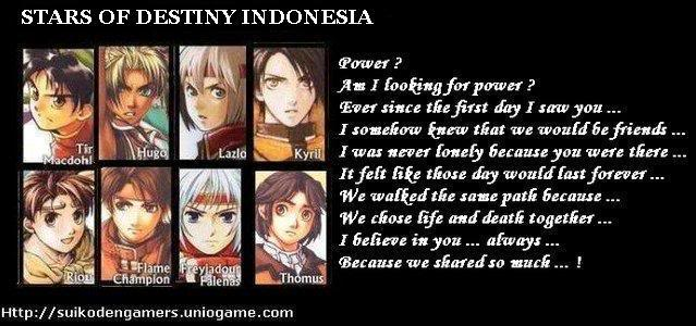 Stars of Destiny Indonesia