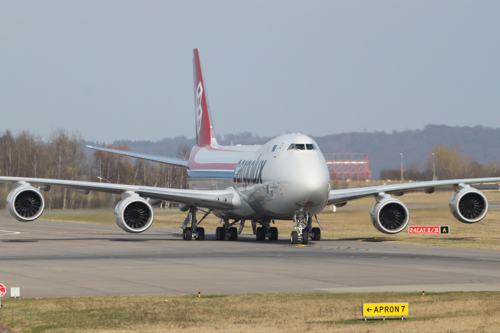 24.03.2012 and then there were three... LX-VCC delivery Lxvcc1