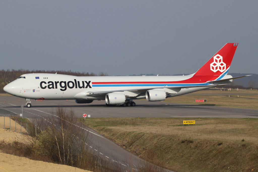 24.03.2012 and then there were three... LX-VCC delivery Lxvcc3