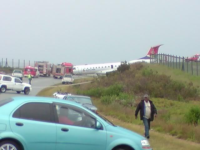 PLANE CRASH AT GEORGE AIRPORT 7 DECEMBER 2009 P071209_11245B015D