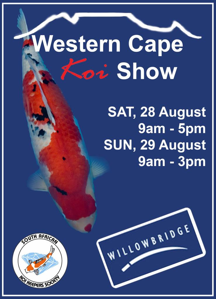 The 15th WCKC Show at Willowbridge Mall 27-29Aug 2010 WCKC2010Poster