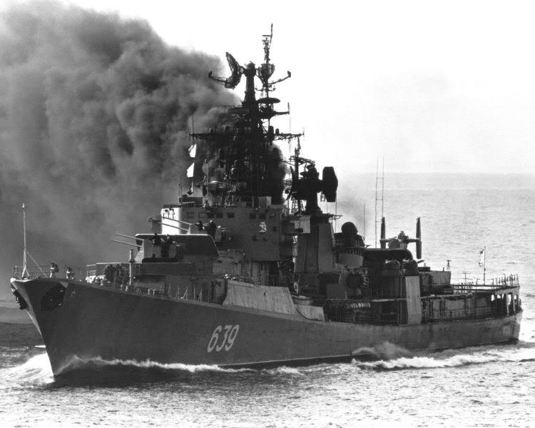 Lực lượng hải quân Xô Viết 750px-Destroyer_Kanin1