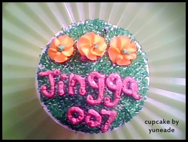 AL's Cupcakes Jingga