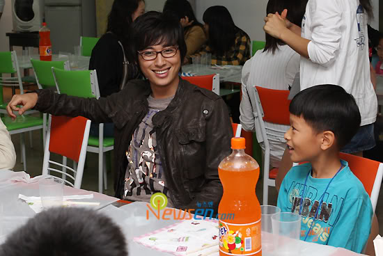 Lee Jee Hoon in Charitable Activity 200810102032551010_1