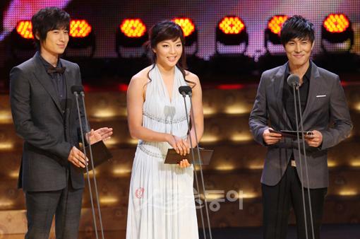 Presenting KBS Drama Awards 14 Oct 2008 - Jee Hoon's cut 200810140555