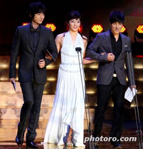 Presenting KBS Drama Awards 14 Oct 2008 - Jee Hoon's cut 20081014191048605