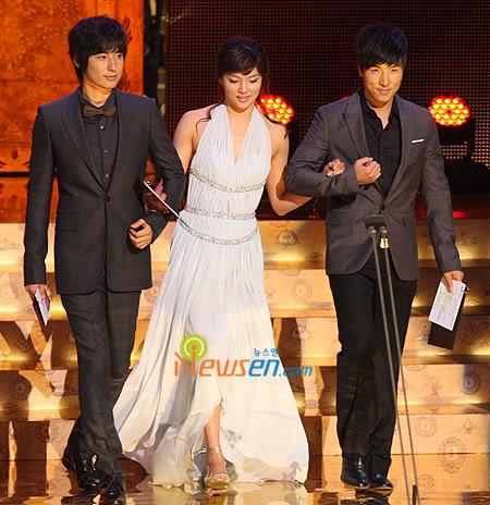 Presenting KBS Drama Awards 14 Oct 2008 - Jee Hoon's cut 200810141915501001_1