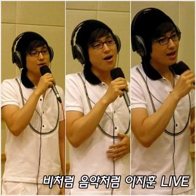 KBS Cool Music 16072008 - LeeJeeHoon singing 'Like Rain, Like Music' 460161-1