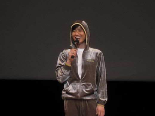 "Lee Jee Hoon ""First Fanmeeting In Tokyo"" on 20 September 2008 JHFM1"