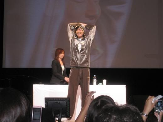 "Lee Jee Hoon ""First Fanmeeting In Tokyo"" on 20 September 2008 JHFM3"