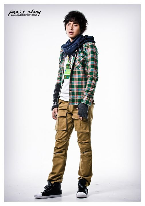 Lee Jee Hoon - Paris Story Hommes Collection I PSH-07