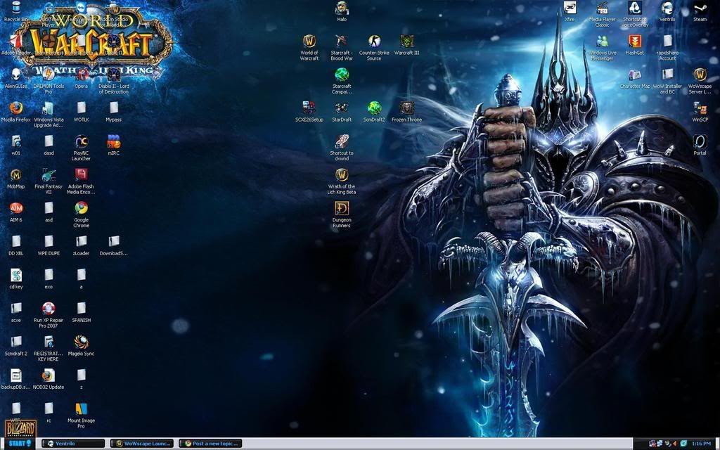 Post Your Desktop Desk