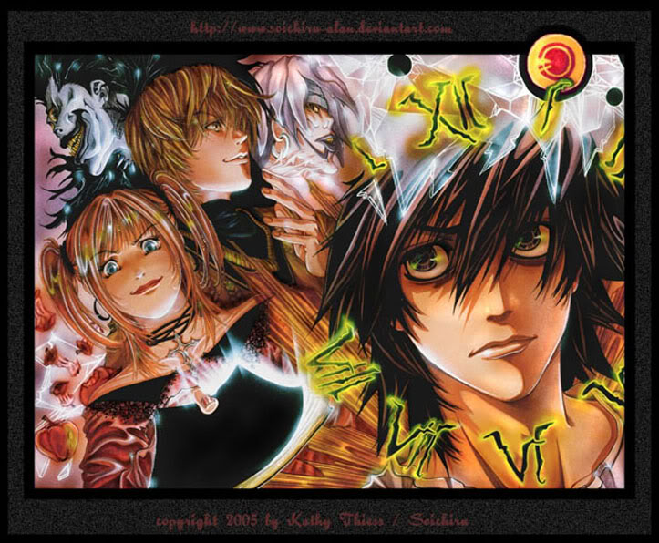 L - Death Note Wallii