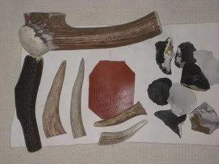 antler flint knapping hammers Picture040-1