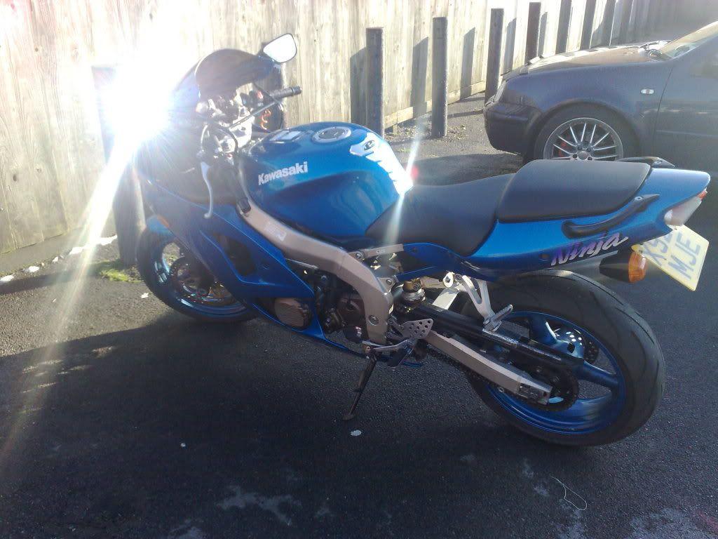 My '01 Kawasaki ZX6-R - Pin it to win it. 13022009118