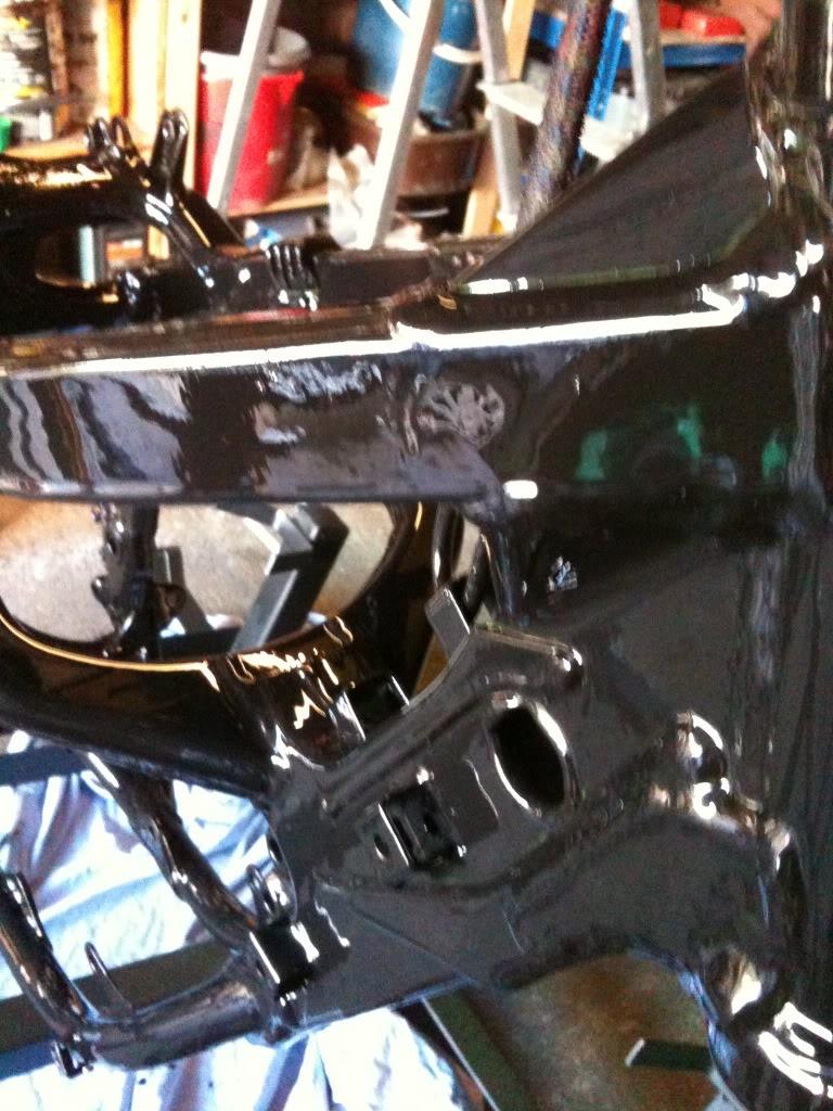 Painting Motocross Frame. IMG_0065