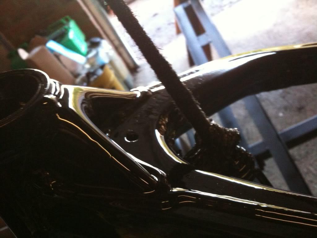 Painting Motocross Frame. IMG_0069