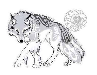 Marcus Silver Fang Anime_wolf_fullbody