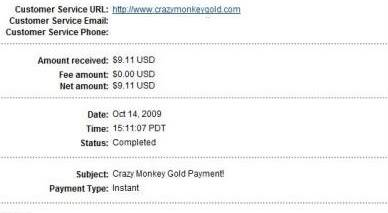 Paypal Payment from CMG & Amazon gift card Cmg7