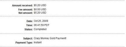 Another Payment from CMG :) Cmgp7