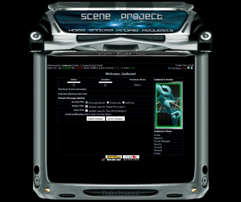 Scene-Project (private torrent tracker) Roboticskin-1