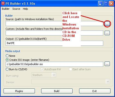 How to Install Windows XP Using Flash Drive or Memory Card BartPE2