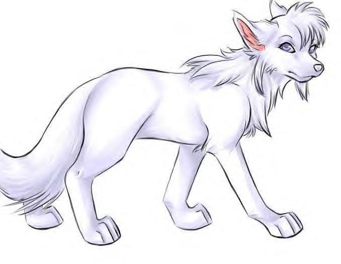 Maya Lewis [werewolf] Cola