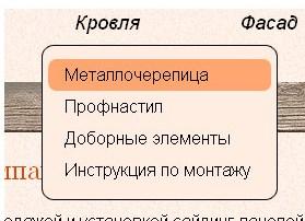 Выпадающее мини-меню 3b73eb3f82a806d285812bdc61ce34c2