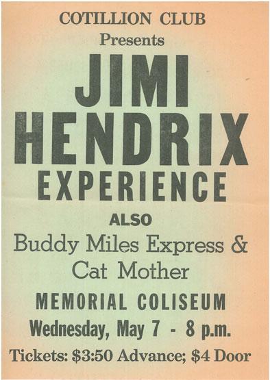 Tuscaloosa (Memorial Coliseum) : 7 mai 1969 6489bc35281a1a337d134a8608a5d3cb