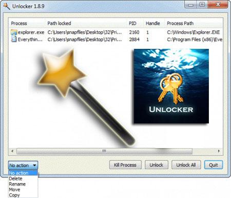 مع أداة Unlocker قم بحذف جميع الملفات المستعصية 9d9091cb5ab86edc6ffb5a8294b5200a