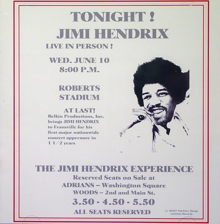 Evansville (Roberts Municipal Stadium) : 10 juin 1970 8fbb8f220d566c0004944d11272c84b2