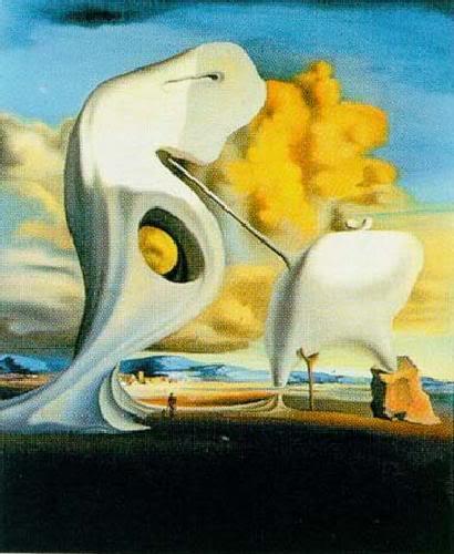 Eugenio Salvador Dalí Salvador-Dali-Millet-s-Architectoni