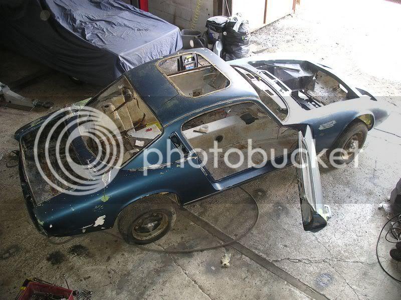 1968 Elan plus 2 restoration Plus2100