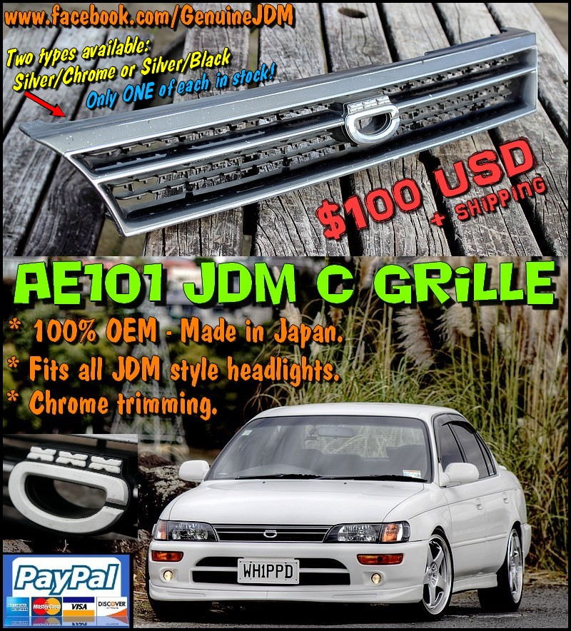 FS: AE101 Corolla JDM C Grilles Untitled4
