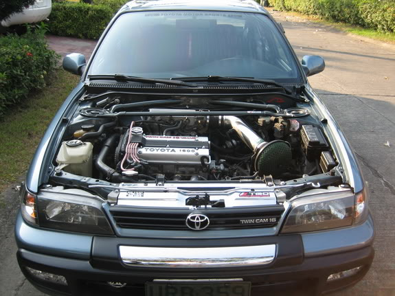 93-97 corolla optional extras & OEM Features Trd-strut-bar4