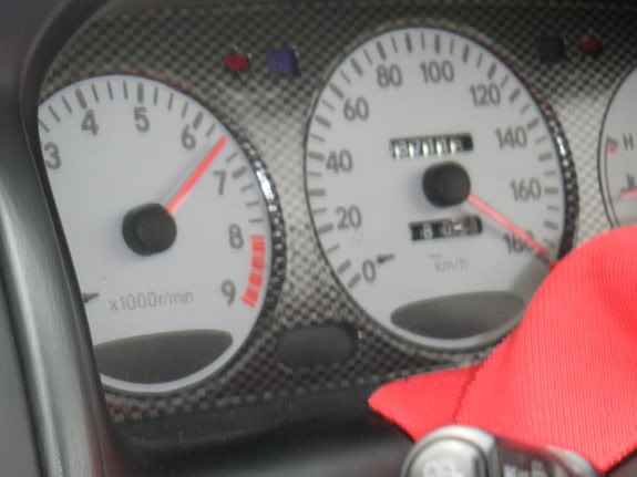 corolla white face cluster (bz-touring) Speed1