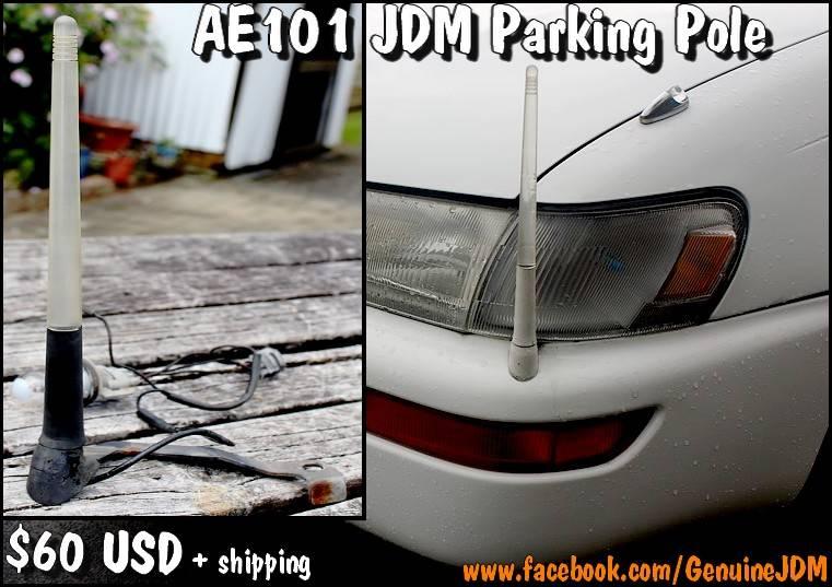 FS: Rare AE101 Corolla JDM Factory Option Parking Pole Parkingpole