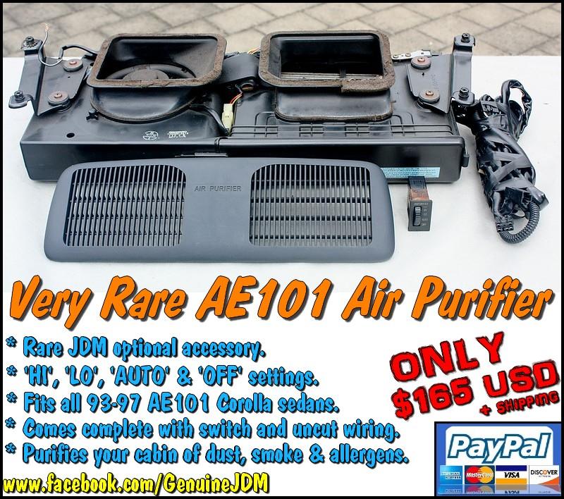 FS: Very Rare AE101 Corolla JDM Backboard Air Purifier Untitled2