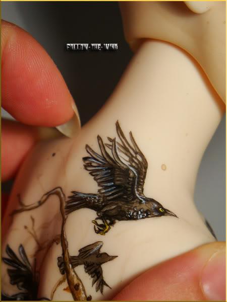 [Encres Folles] - Maquillage, tatouage Scylla03