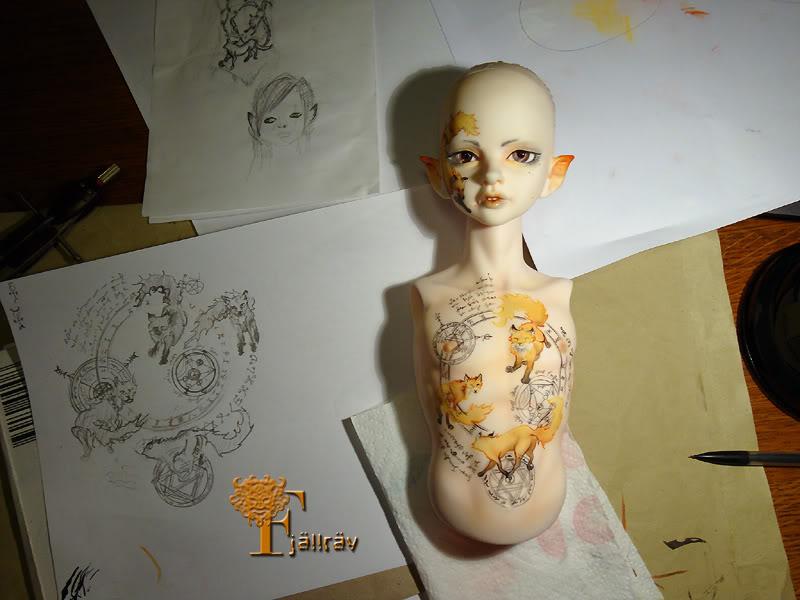 [Encres Folles] - Maquillage, tatouage Foxtattoos2