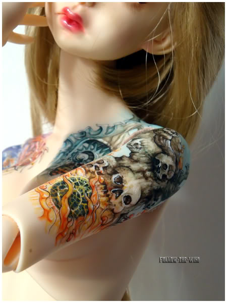[Encres Folles] - Maquillage, tatouage 07-112