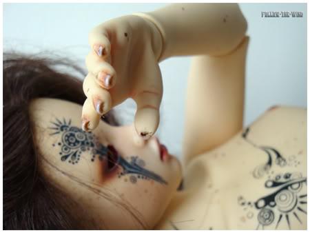 [Encres Folles] - Maquillage, tatouage Enfantsauvage4