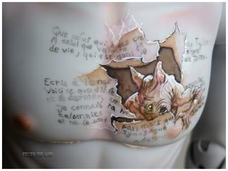 [Encres Folles] - Maquillage, tatouage 08-1110