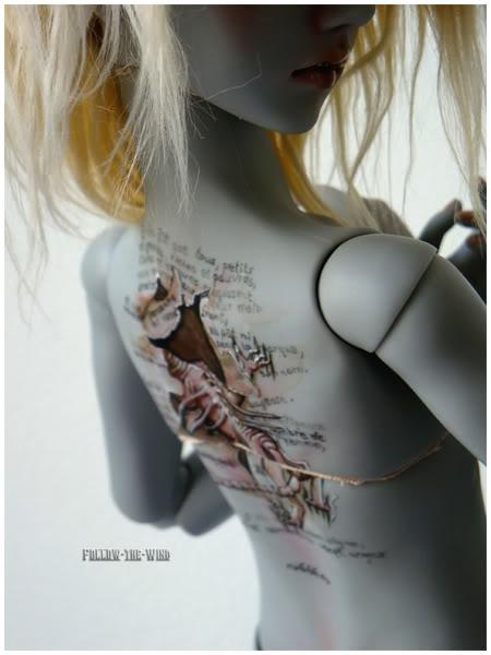 [Encres Folles] - Maquillage, tatouage 08-119